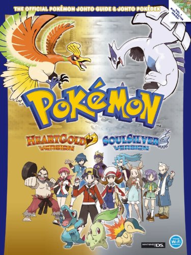9781906064648: The Official Pokemon HeartGold and SoulSilver Johto Guide and Johto Pokedex