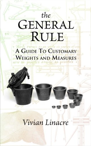 9781906069018: The General Rule: A Guide to Customary Weights and Measures