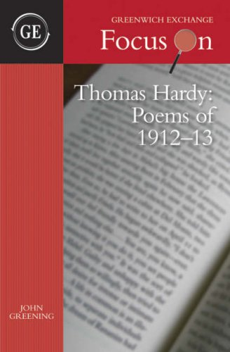 9781906075040: Thomas Hardy - Poems of 1912-13: The Emma Poems (Focus on)