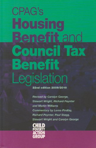 CPAG's Housing Benefit and Council Tax Benefit Legislation 2009-2010 (9781906076269) by [???]