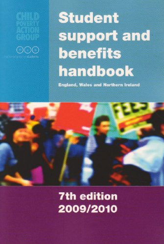 Student Support and Benefits Handbook: England, Wales: Malcolm, David, et
