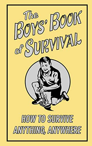 9781906082123: Boys' Book of Survival (Buster Books)