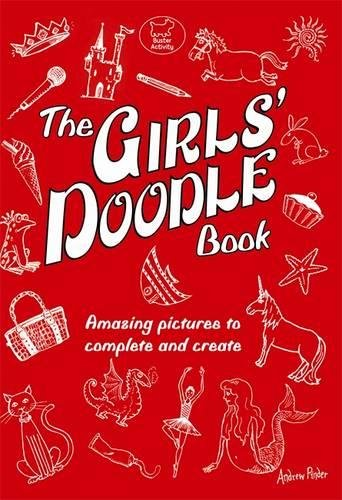9781906082222: The Girls' Doodle Book (Buster Books)