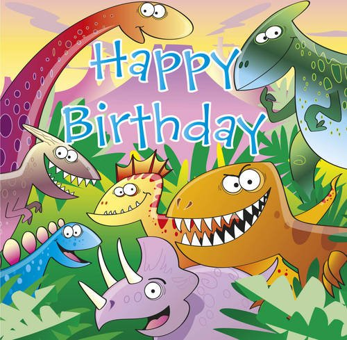 9781906089184: Happy Birthday - Dinosaur