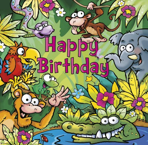 9781906089337: Happy Birthday - Jungle