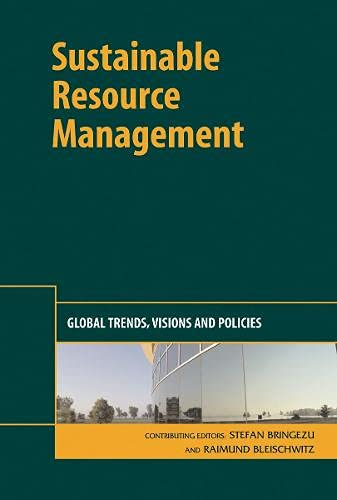 9781906093266: Sustainable Resource Management: Global Trends, Visions and Policies