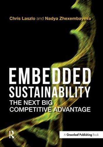 9781906093587: Embedded Sustainability: The Next Big Competitive Advantage