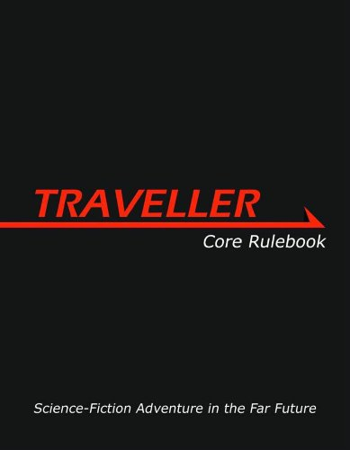 9781906103330: Traveller Core Rulebook: Science-Fiction Adventure in the Far Future