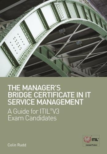 The Managers Bridge Certificate in IT Service: Colin Rudd