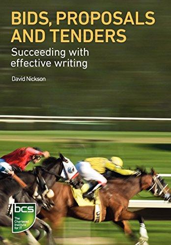 Bids, Proposals and Tenders: Nickson, David