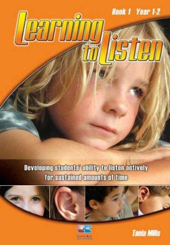 Learning to Listen: Bk. 1 (Paperback): Tania Mills