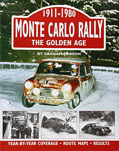 9781906133009: Monte Carlo Rally: The Golden Age, 1911-1980