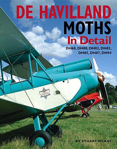 9781906133115: De Havilland Moths In Detail: DH60, DH80, DH82, DH83, DH85, DH87, DH94