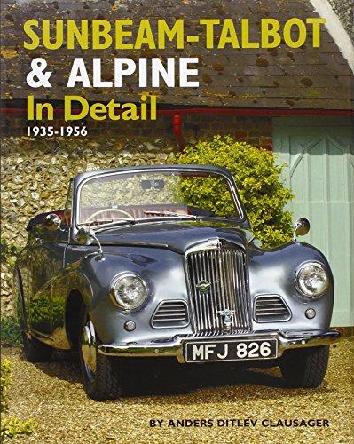 9781906133139: Sunbeam-Talbot and Alpine in Detail, 1938-1957