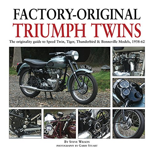 Factory-original Triumph Twins: Speed Twin, Thunderbird & Bonneville Models 1938-62