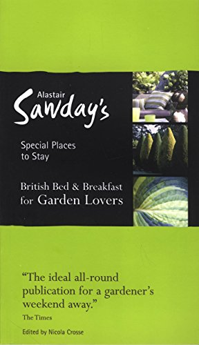 9781906136109: Garden Lovers Bed & Breakfast Special Places to Stay