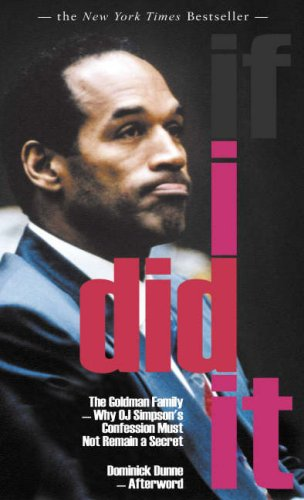 9781906142087: If I Did It : Confessions of the Killer
