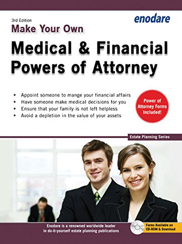 9781906144623: Make Your Own Medical & Financial Powers of Attorney (Estate Planning)