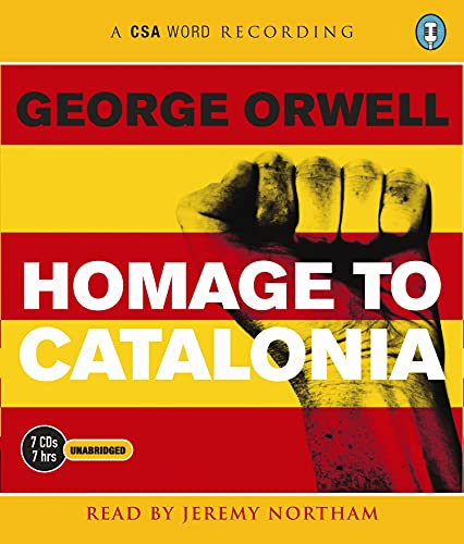 Homage to Catalonia (Csa Word Recording): Orwell, George