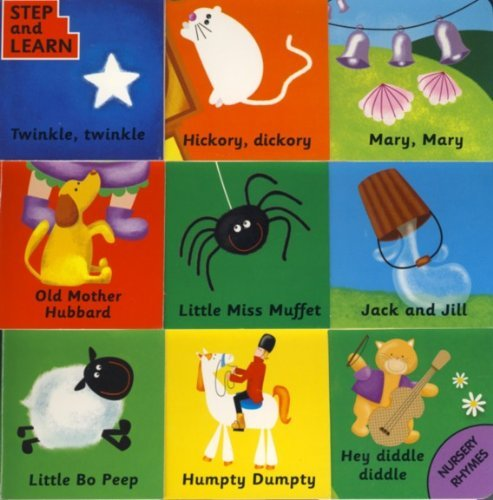 9781906151546: Step And Learn Nursery Rhymes (9 Flap Board Book)