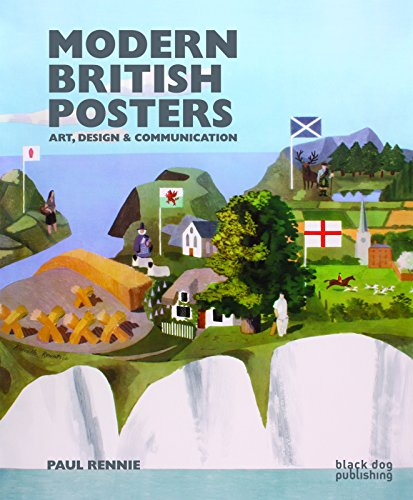 9781906155971: Modern British Posters: Art, Design & Communication