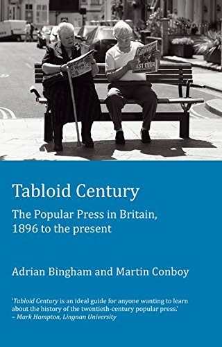 9781906165321: Tabloid Century: The Popular Press in Britain, 1896 to the present (Peter Lang Ltd.)