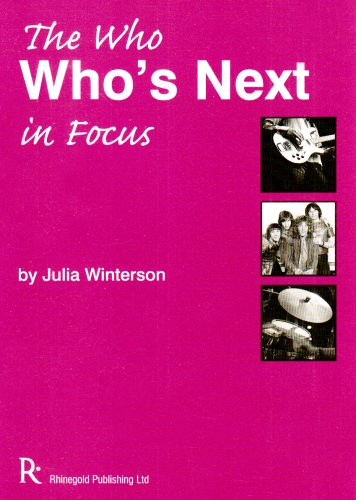 The 'Who' - Who's Next in Focus: Julia Winterson