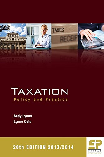 9781906201203: Taxation: Policy and Practice (2013/14 20th Edition)