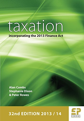 9781906201210: Taxation Incorporating the 2013 Finance ACT