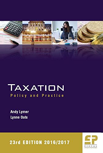 9781906201302: Taxation: Policy and Practice 2016/17