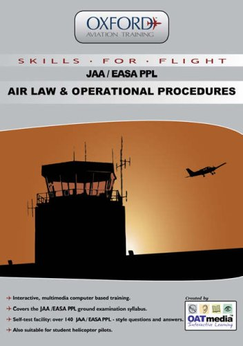 9781906202002: JAA PPL Air Law and Operational Procedures: v. 1: Multimedia Ground Training