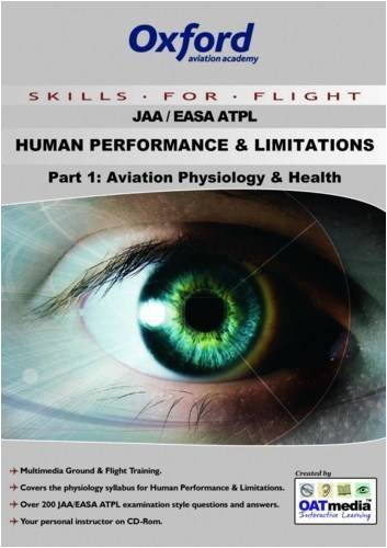 9781906202262: ATPL Human Performance and Limitations: Aviation Physiology and Health Pt. 1
