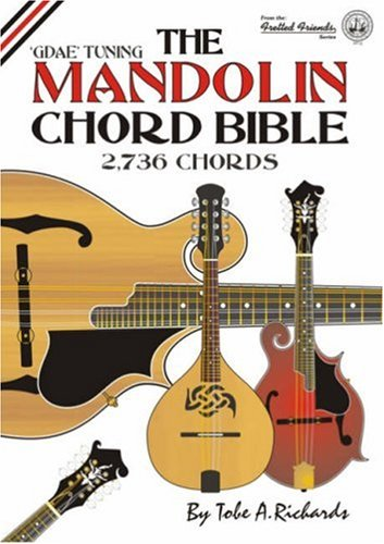 9781906207014: The Mandolin Chord Bible: GDAE Standard Tuning 2, 736 Chords (Fretted Friends)