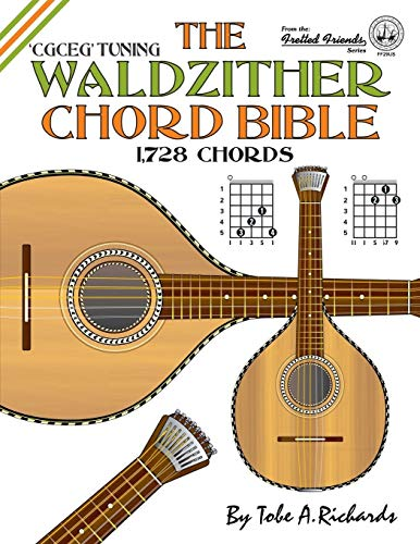 9781906207489: The Waldzither Chord Bible: CGCEG Standard C Tuning (Fretted Friends)