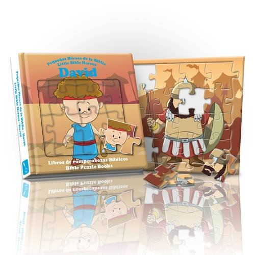 9781906227692: Little Bible Heroes - David: Bible Puzzle Books (English and Spanish Edition)
