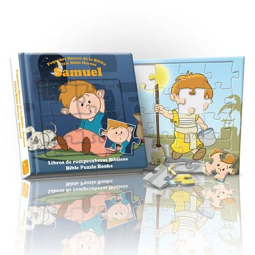 9781906227708: Little Bible Heroes Samuel: Bible Puzzle Books (English and Spanish Edition)