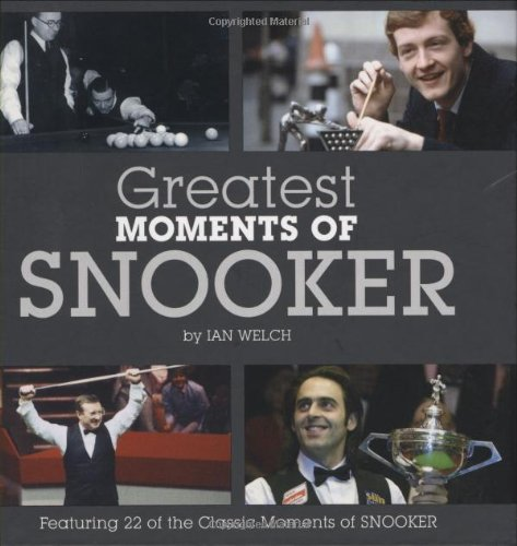 9781906229429: Greatest Moments of Snooker