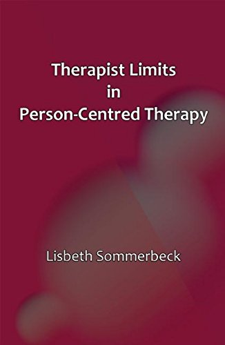 9781906254810: Therapist Limits in Person-Centred Therapy