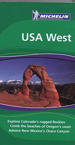 9781906261207: Michelin Green Guide USA West, 2e (Green Guide/Michelin)