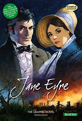 9781906332082: Jane Eyre: The Graphic Novel: Quick Text (Classical Comics)
