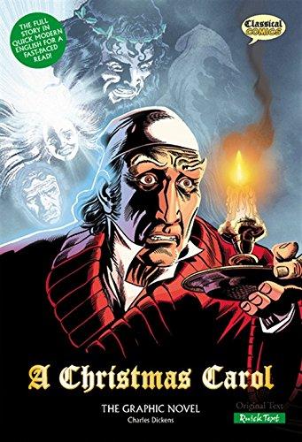 9781906332181: A Christmas Carol: The Graphic Novel: Quick Text (Classical Comics)