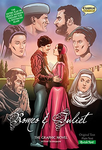 9781906332211: Romeo and Juliet (Classical Comics): The Graphic Novel: Quick Text (Classical Comics: Quick Text)