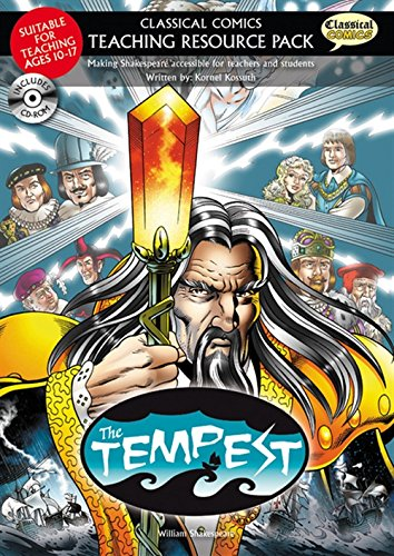 Classical Comics Teaching Resource Pack: The Tempest- Making Shakespeare Accessible for Teachers ...