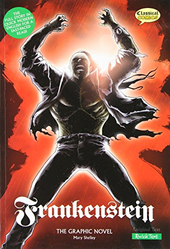 9781906332501: Frankenstein: The Graphic Novel (Classical Comics: Quick Text)