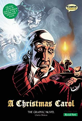 9781906332525: A Christmas Carol the Graphic Novel: Quick Text: US English