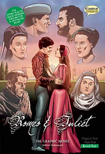 9781906332631: Romeo and Juliet The Graphic Novel: Quick Text