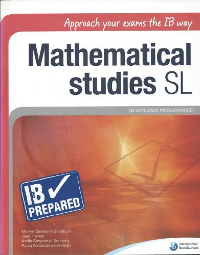 9781906345143: MATHEMATICAL STUDIES SL