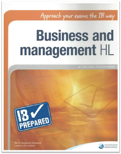9781906345310: IB Prepared: Business and Management HL