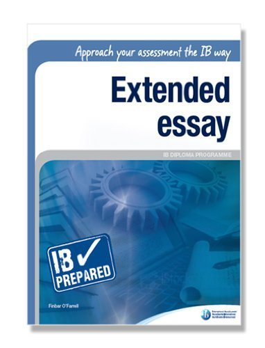 ib extended essay criteria 2009 Student guide: extended essays in biology section 2: criteria of the written parts of the essay this sub sections that follow are in the same order as would be expected in the essay.