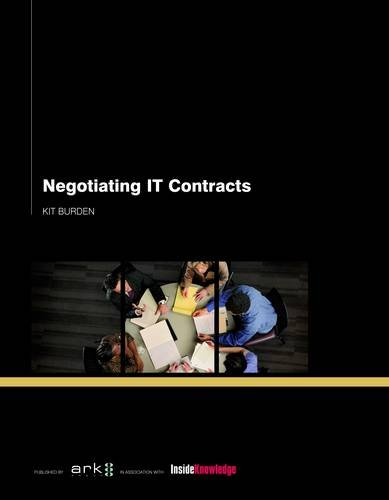 9781906355487: Negotiating IT and Outsourcing Contracts